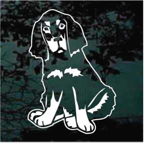 Gordon Setter Puppy 01 Window Decal