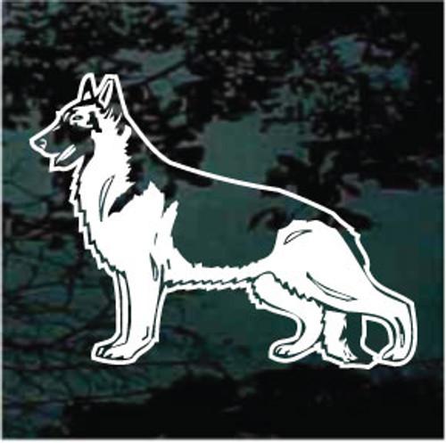 Attractive German Shepherd Decals
