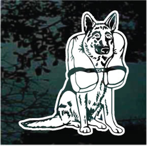 German Shepherd Rescue Decals