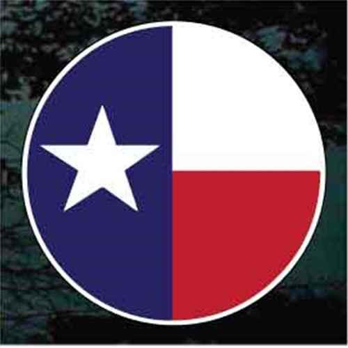 Texas Flag Round