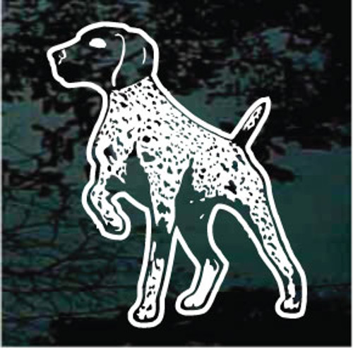 German Shorthaired Pointing Window Decals