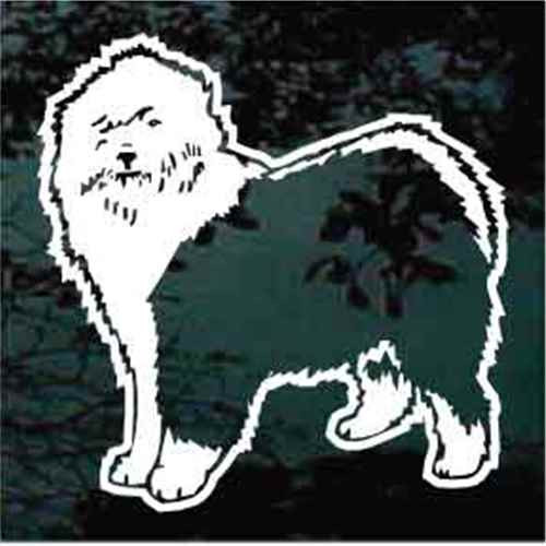 Old English Sheepdog Standing Decals