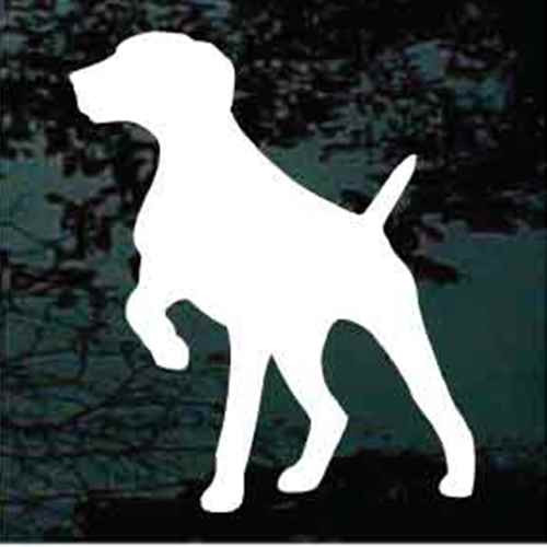 German Shorthaired Pointing Silhouette Window Decal