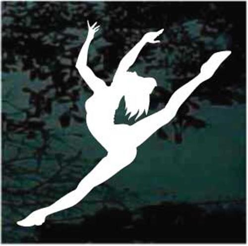 Graceful & Delicate Ballet Dancer Decals