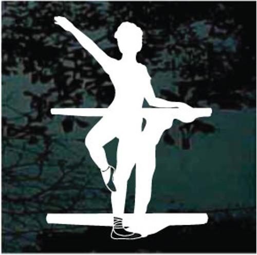 Ballet Dance Class Decals