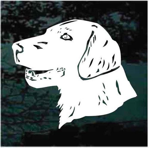 Field Spaniel Head Decals