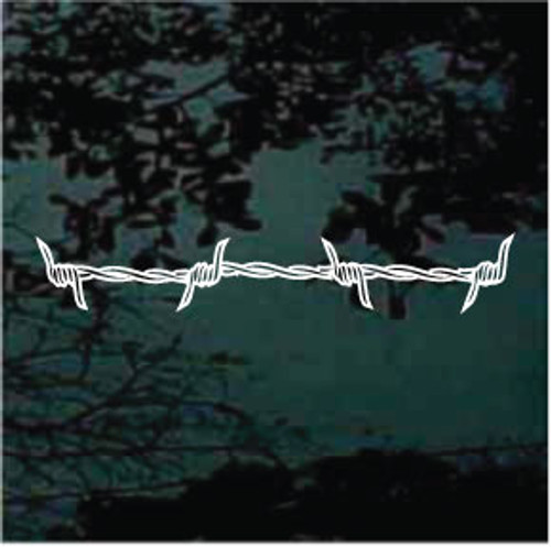 Barbed Wire Pinstriping Decals