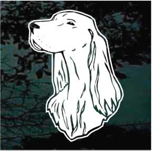 Irish Setter 03 Window Decal