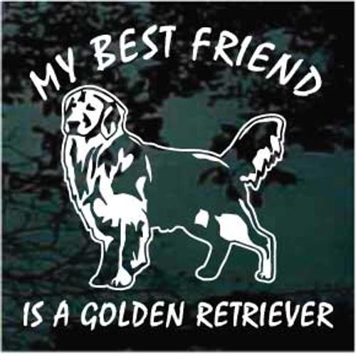 Golden Retriever Best Friend