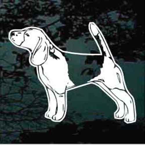 Beagle Stance Decal