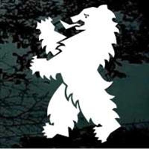 Bear Crest Window Decal