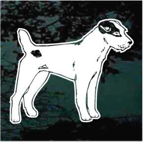 Jack Russell Terrier 03 Window Decal