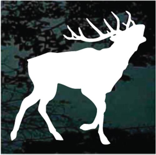 Caribou Calling Silhouette
