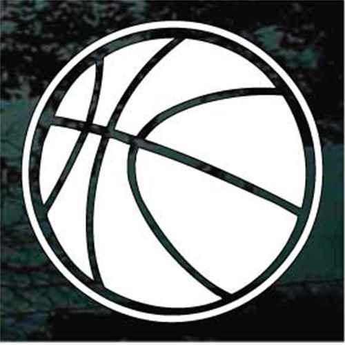 Basketball 02 Window Decals