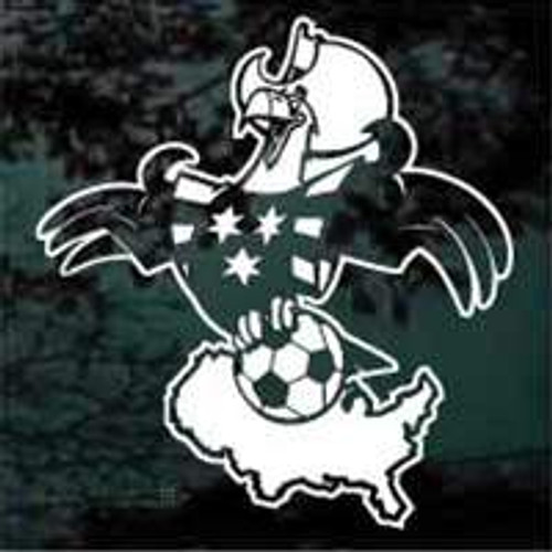Eagle Soccer Decals