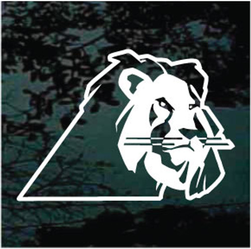 Nice Lion Head Window Decals