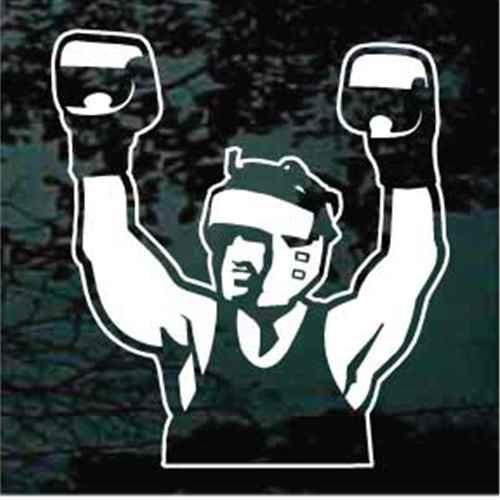 Boxer Wearing Gloves