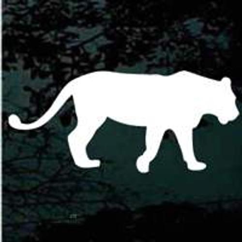 Lioness Walking Window Decals