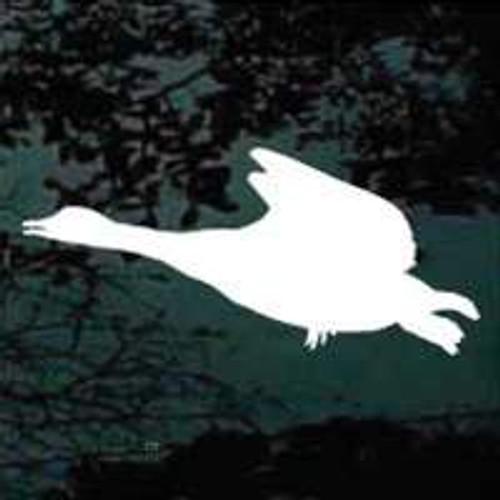 Solid Goose Flying Window Decals