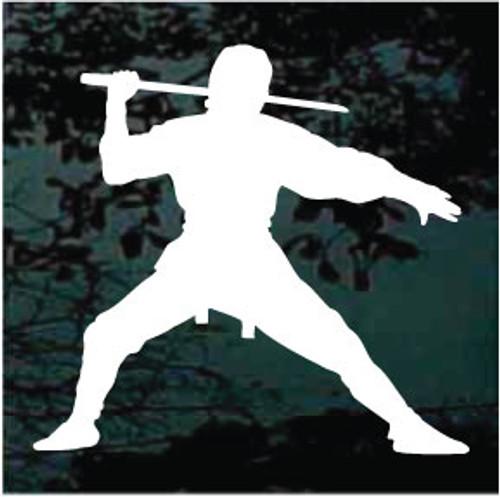 Martial Arts Silhouette 04