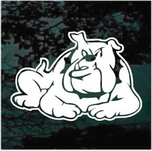 Bulldog Down Window Decals