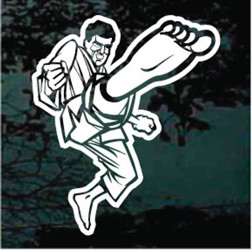 Martial Arts Karate Decals & Stickers Personalized | Decal Junky