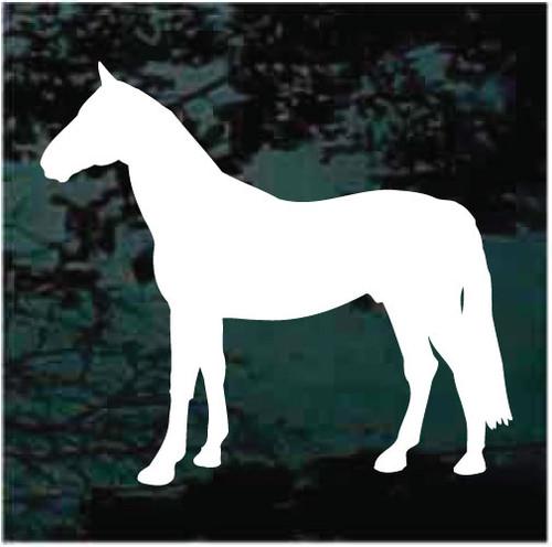 Quarter Horse Silhouette Decals