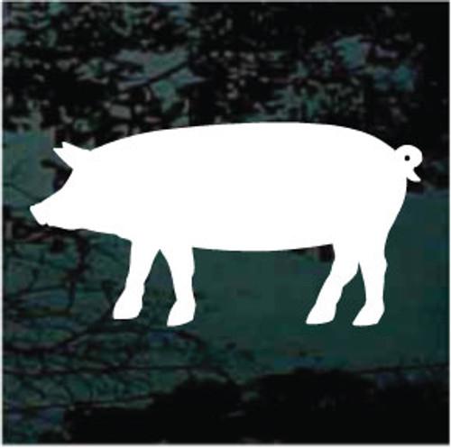 Pig Silhouette 01