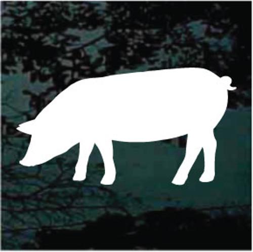 Pig Silhouette 02