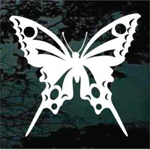 Swallowtail Butterfly Window Decals