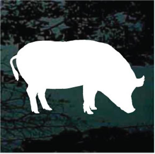 Pig Silhouette 03