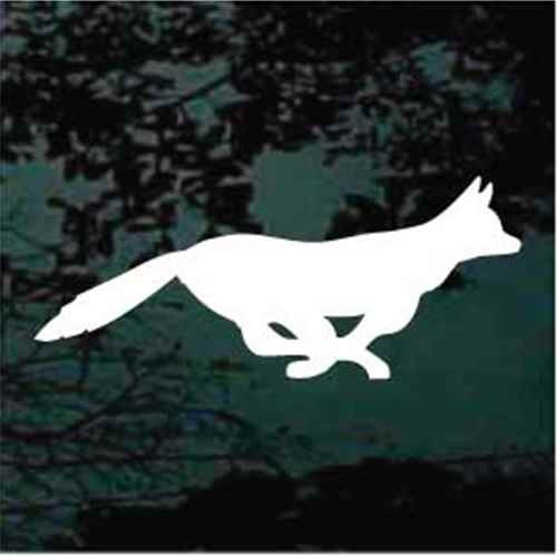 Fast Fox Window Decals