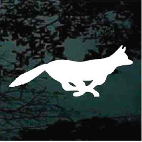 Fast Fox Window Decals