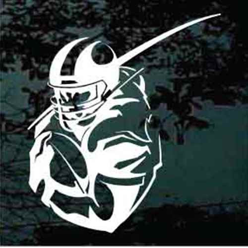 Detailed Football Player Decals