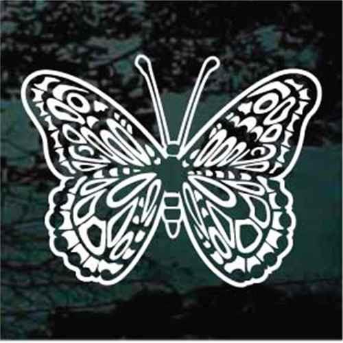 Butterfly Moth Window Decals