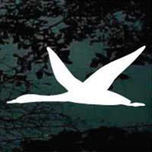 Goose Silhouette 02 decal