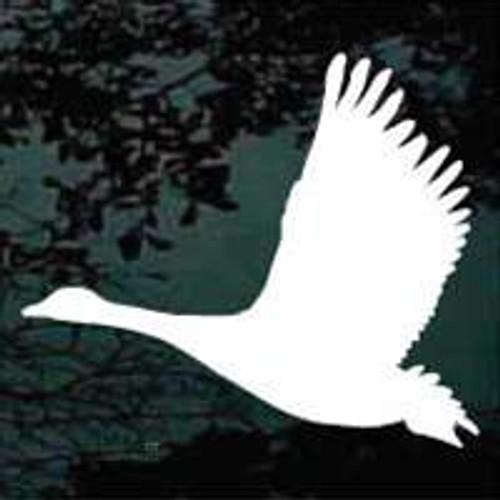 Goose Silhouette Flying Window Decals