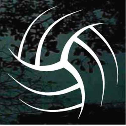 Stylized Volleyball