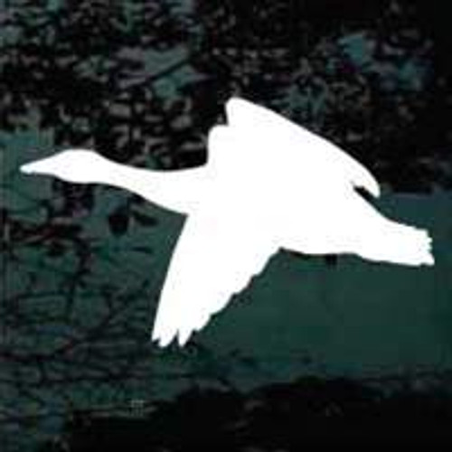 Goose Silhouette 04 Decal
