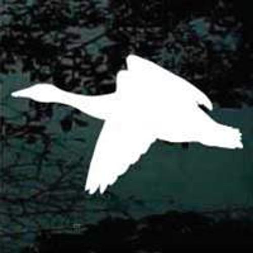 Solid Flying Goose Window Decals