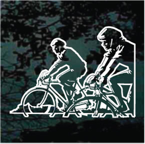 Detailed Bicycle Riders Decals