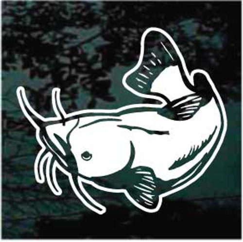 Channel Catfish Window Decals