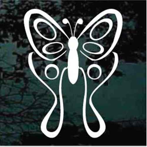 Swallowtail Butterfly Design Window Decals