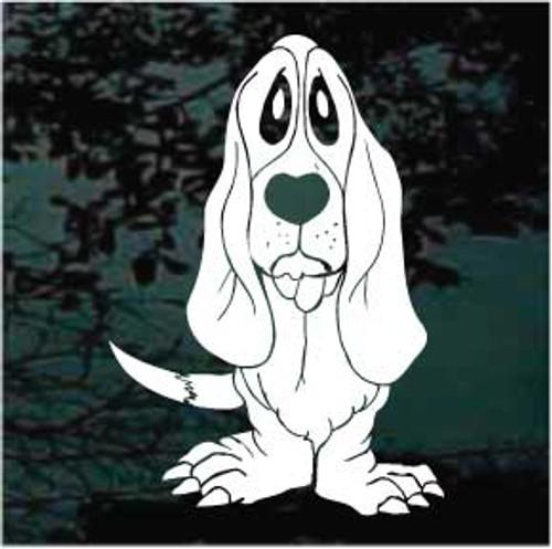 Funny Cartoon Hound