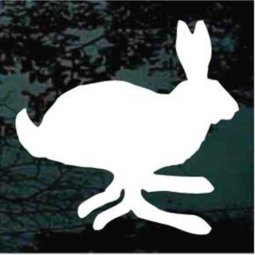Fast Rabbit Hopping Window Decals