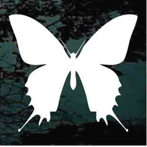 Butterfly Silhouette 01 Window Decals