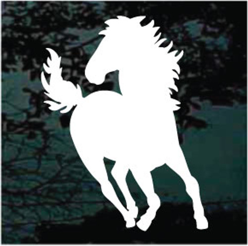Mustang Horse Silhouette 01