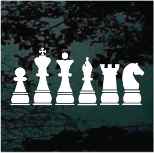 Chess Pieces Decals