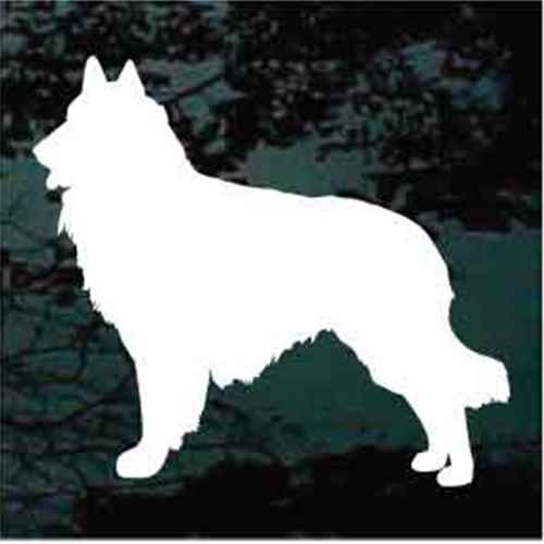 Belgian Tervuren Sheepdog Window Decal