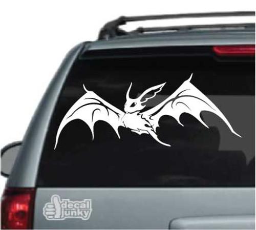 Tribal Bat Flying Car Decal